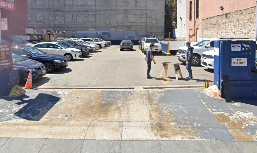 Broadway St - Parking Lot
