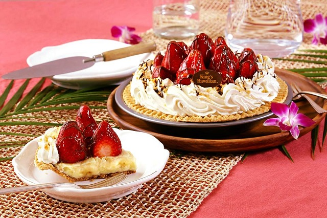 king's hawaiian strawberry pie