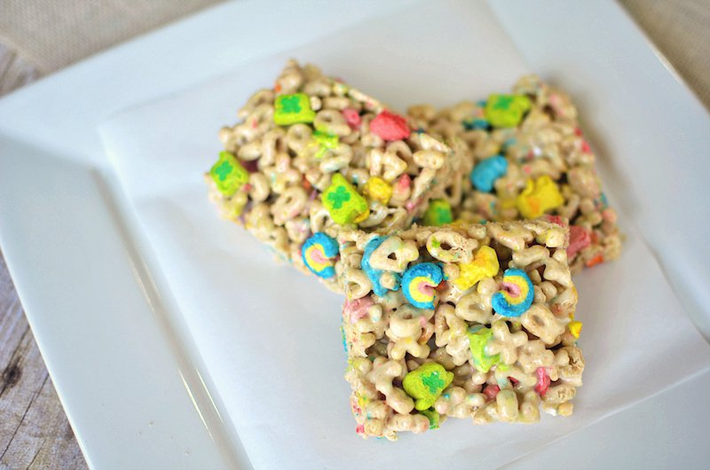 lucky charms st. patrick's day snacks