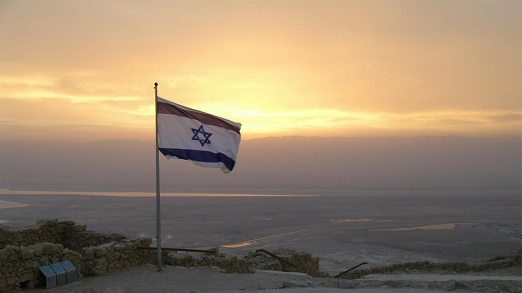 jewish flag in Israel