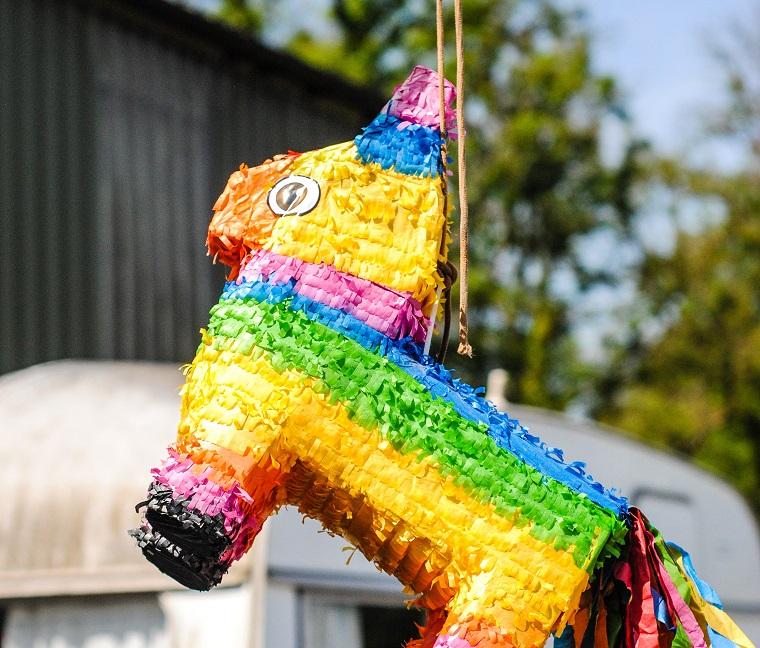 Donkey pinata multicolor