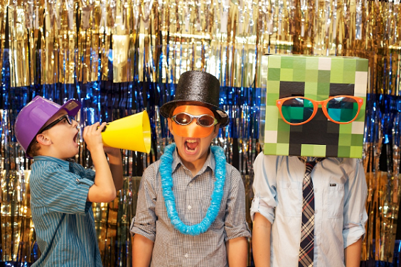 PA photo booth is sure to keep the kids entertained with endless possibilities
