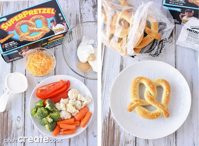 healthy butterfly snack on a plate