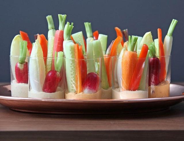 healthy hummus snacks