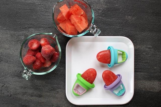 healthy watermelon pops snacks