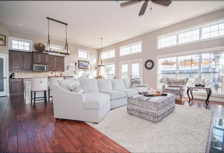 classic designed living room