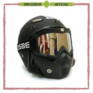 Terlaris Helm Momo JPN Goggle Masker