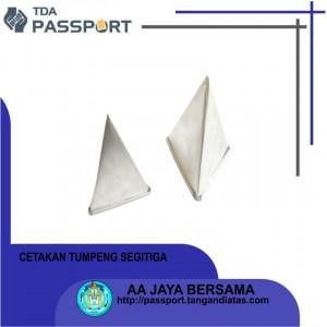 cetakan tumpeng segitiga kecil