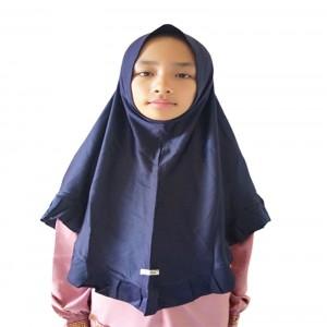 Jilbab Erlin Arini - Biru