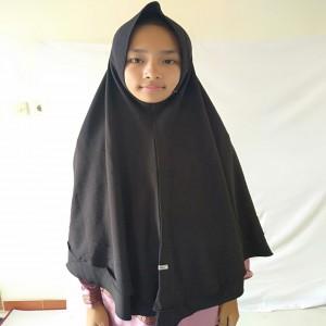 Jilbab erlin Aisha Hitam