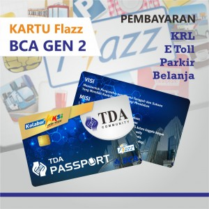 Kartu Flazz TDA Passport