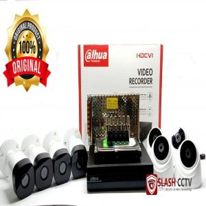 PAKET CCTV LENGKAP 8 KAMERA DAHUA