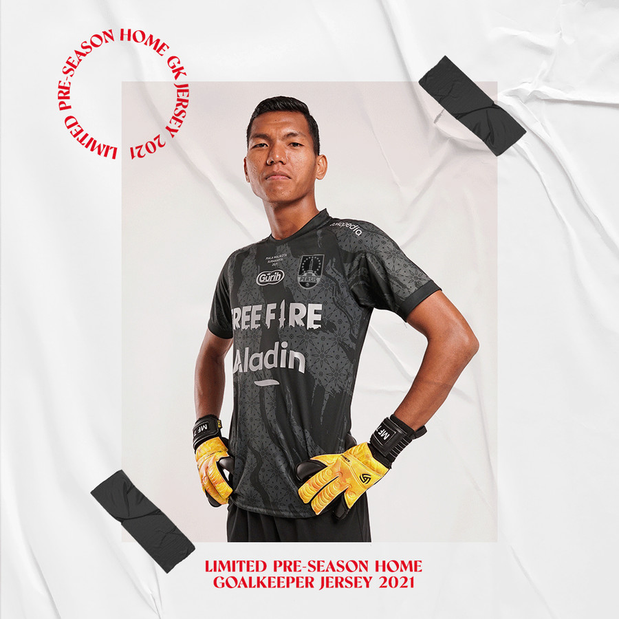 LIMITED - Pre Season Home GoalKeeper Jersey Persis Solo 2021