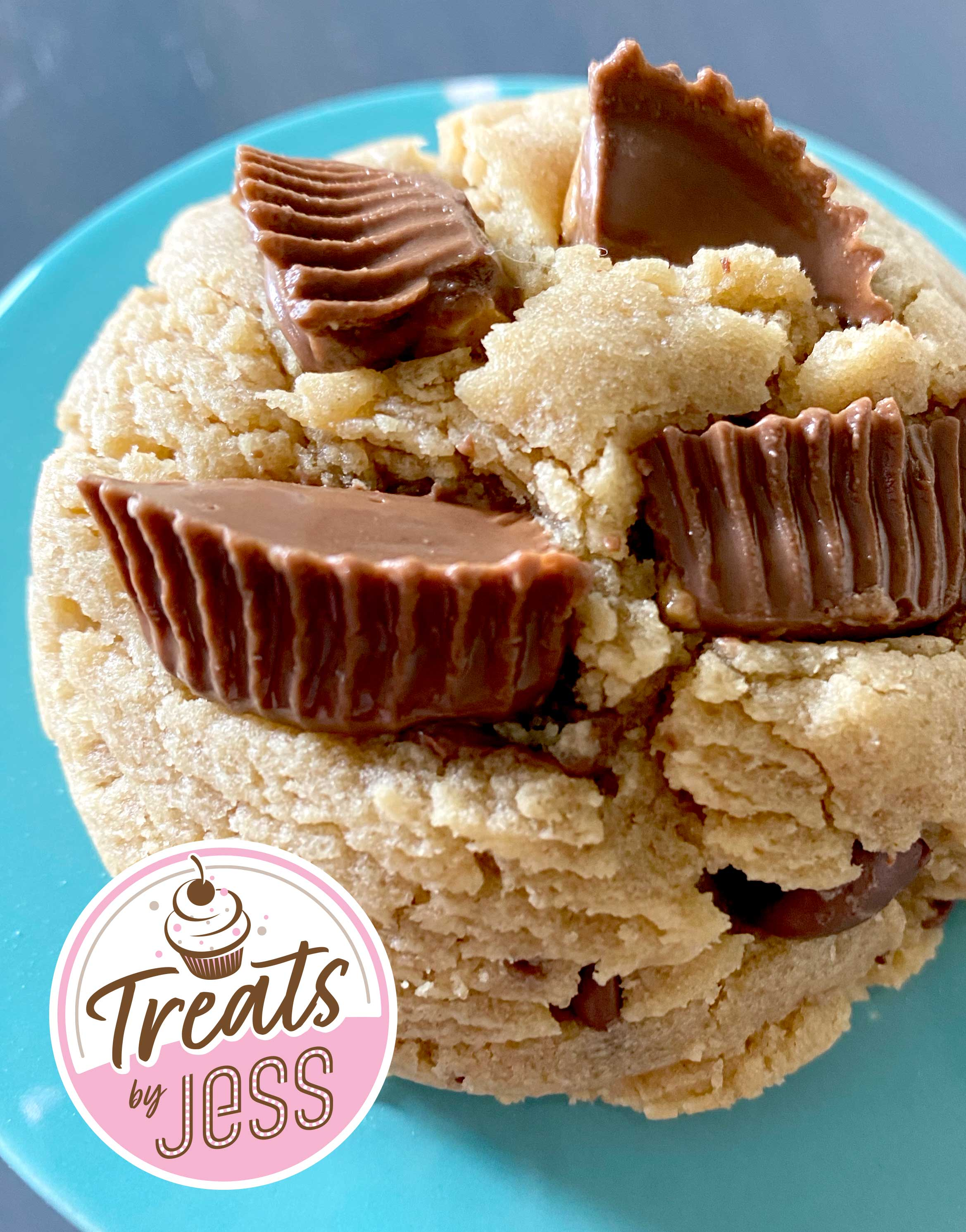 Order Treats by Jess - Chunky Reeses Cookies