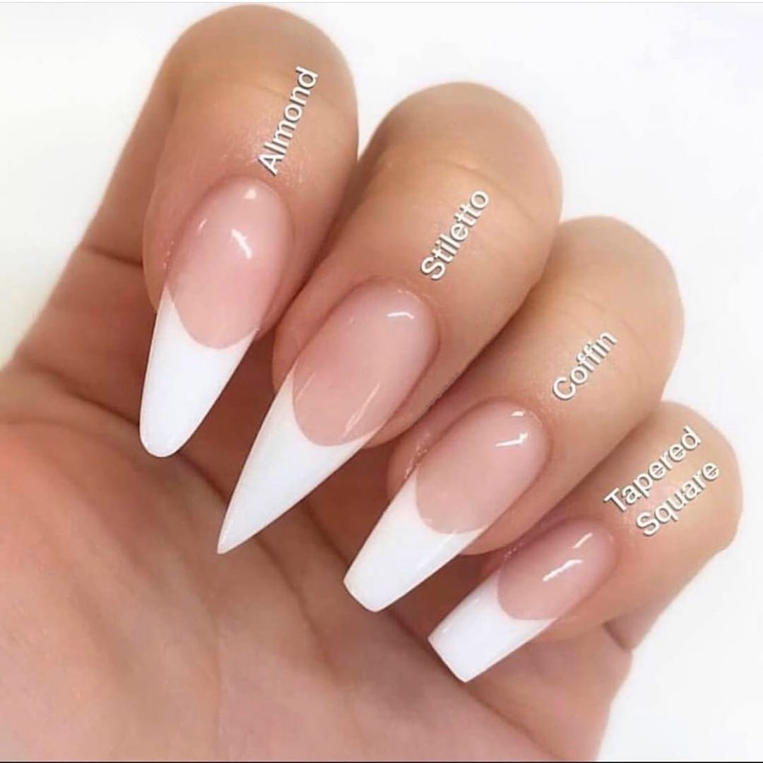 Nails shapes