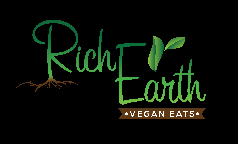 Rich Earth Vegan Eats logo