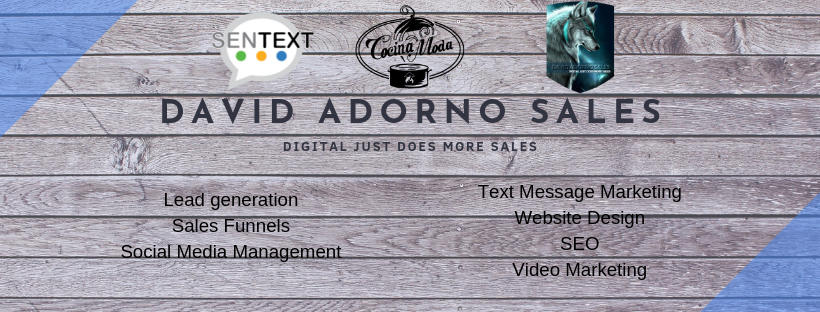Welcome to David Adorno Sales