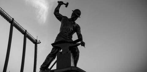 The Boilermaker Statue