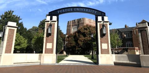 Purdue University's new gateway