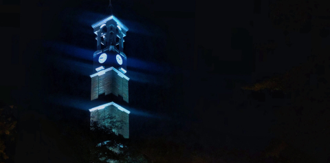 The Bell Tower at night
