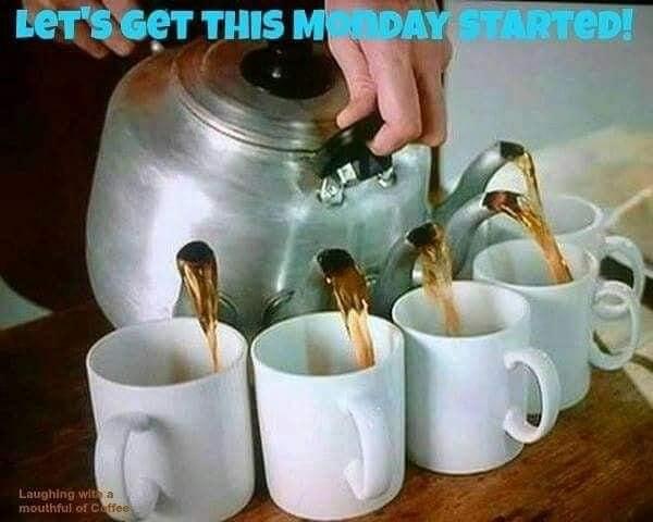 many coffee mugs #coffeeMonday