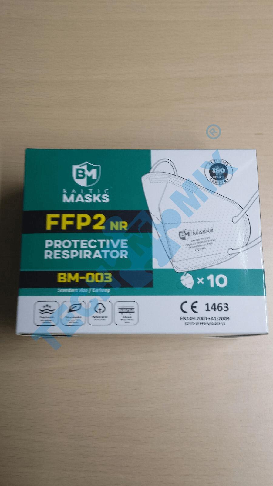 MASKA P/PYŁ FFP2 - 2SZT