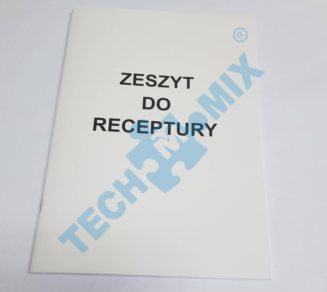 ZESZYT DO RECEPTURY