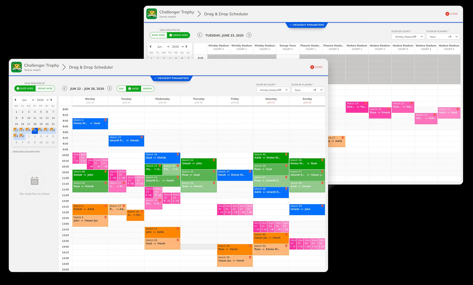 Drag And Drop Calendar Scheduler