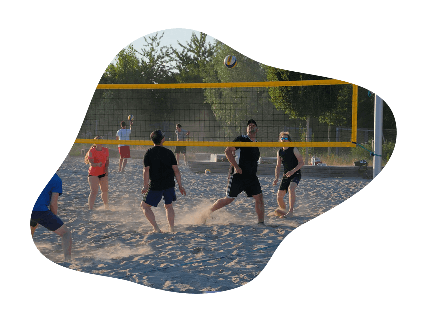 Beach Volleyball Sport Image