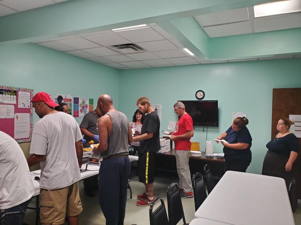 The P.E.E.R. Center Community Meal