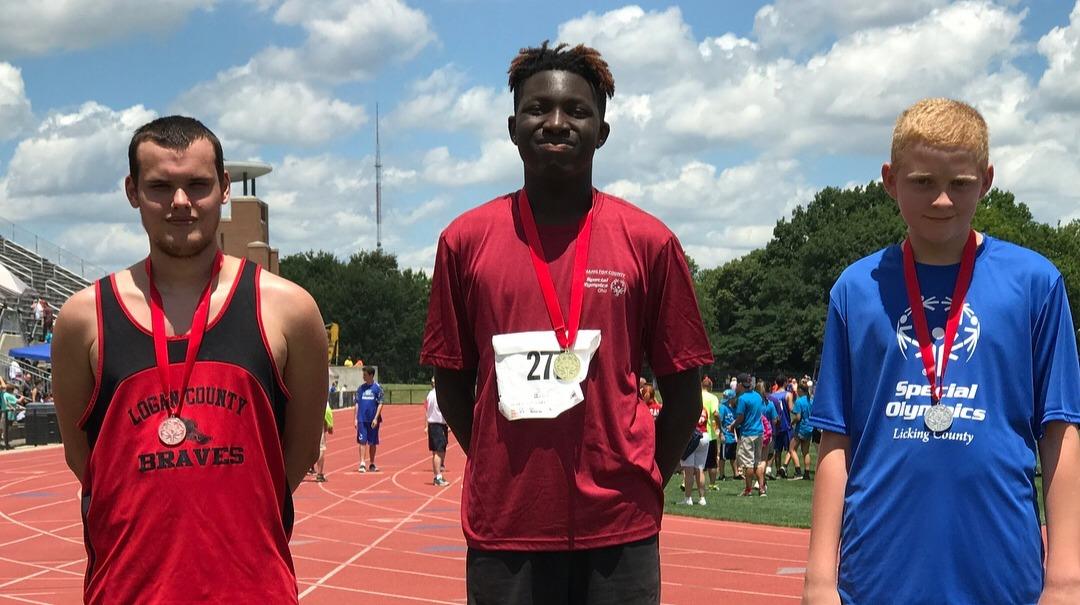 Special Olympics Hamilton County Track