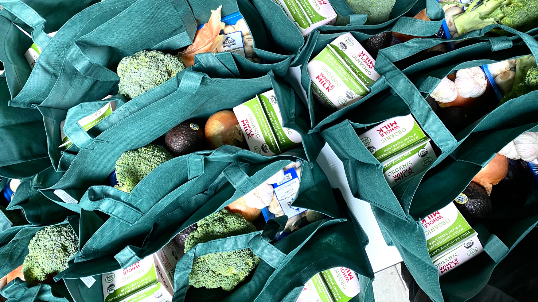 Packing Grocery Bags - October