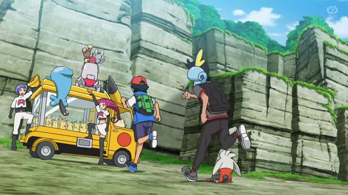 Capítulo 35 Viajes Pokémon