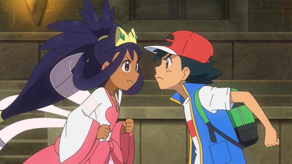Capítulo 65 Pokémon Viajes - ¡ Batalla Dragón ! !! Ash VS Iris !!