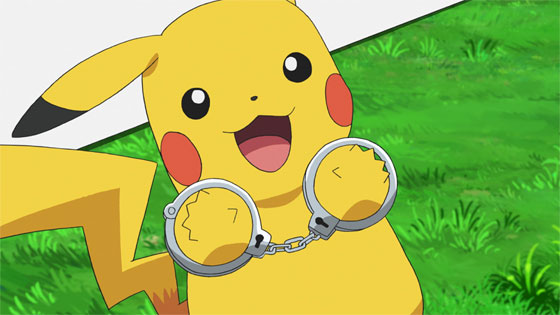 Capítulo 67 Pokémon Viajes - ¡¿Pikachu el sospechoso?!