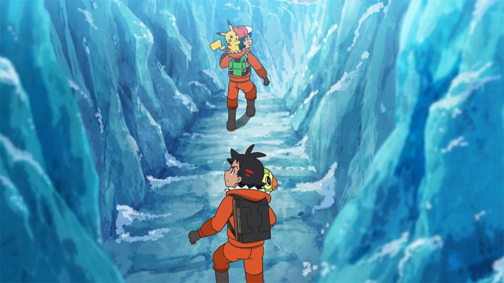 Capítulo 71 Pokémon Viajes - ¡Vamos! ¡¡Proyecto Mew!!
