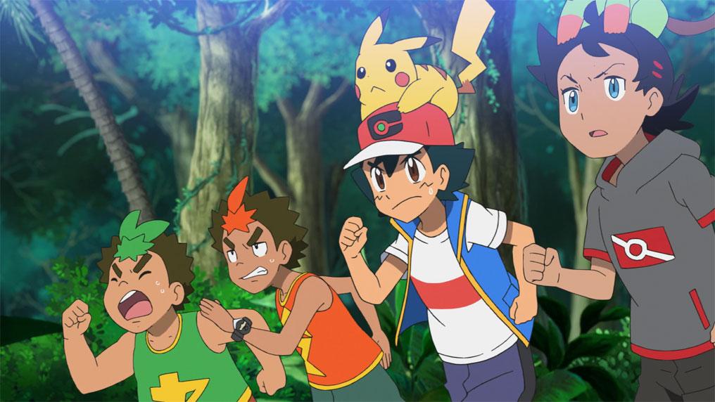 Pokémon Viajes 76 - Carrera por las islas deshabitadas de Alola