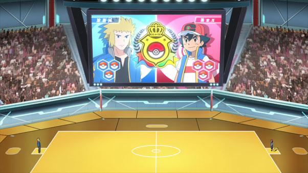 Anime Pokémon Viajes Maestros 77