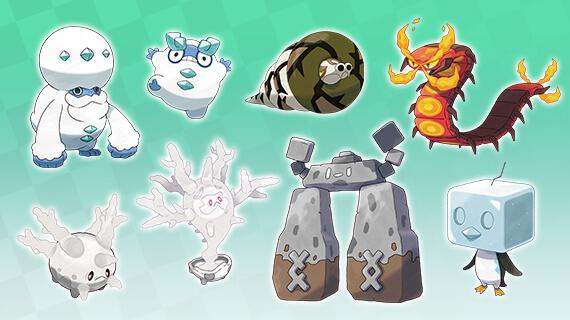 Pokémon SWSH presenta oficialmente nuevos Pokémon y nuevos líderes de Gimnasio