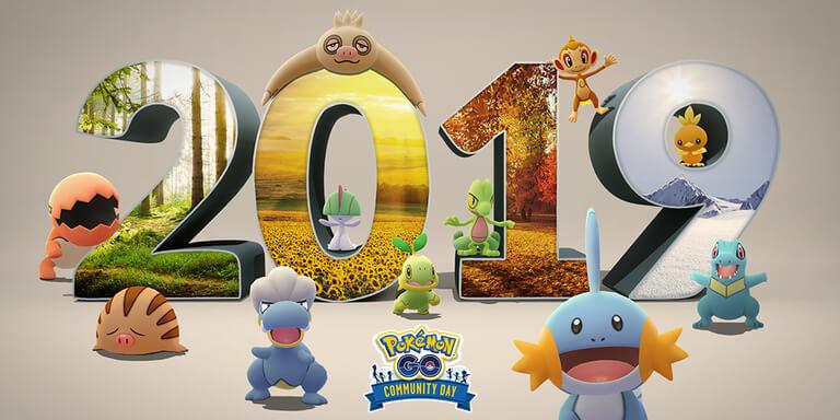 El día de la Comunidad de Pokémon GO para diciembre 2019 durará 2 días con todos los protagonistas del 2019