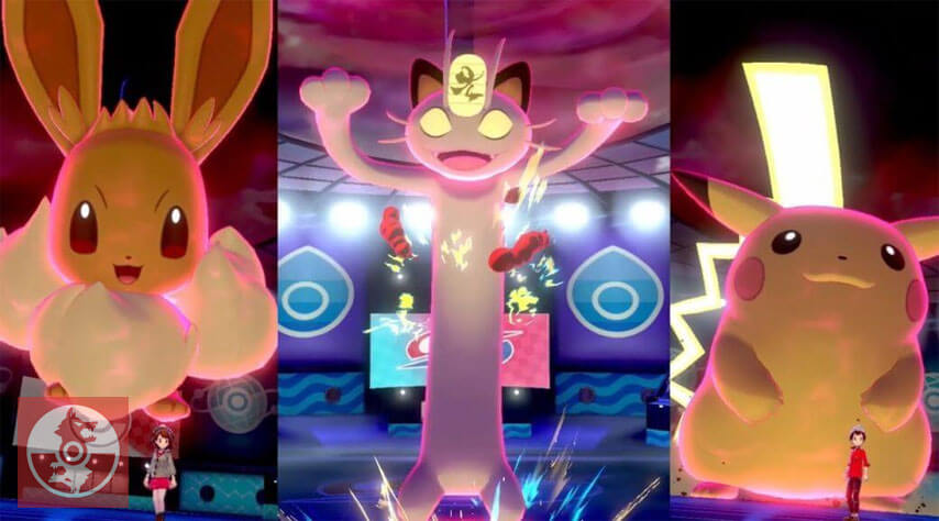 Como conseguir a Pikachu, Eevee y Meowth Gigamax en Pokémon Espada y Escudo