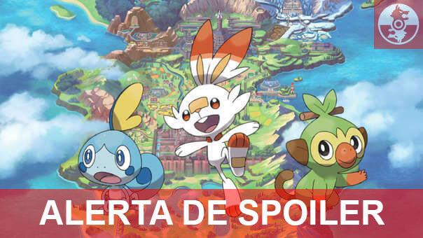 [SPOILER] Se han filtrado una gran cantidad de nuevos Pokémon en Espada y Escudo