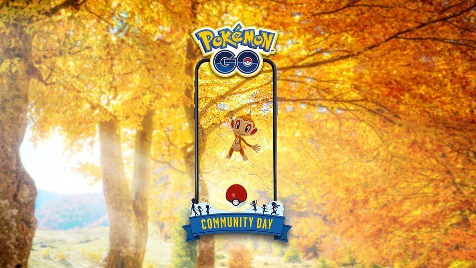 Chimchar será el protagonista del Día de la Comunidad de Pokémon GO para Noviembre 2019