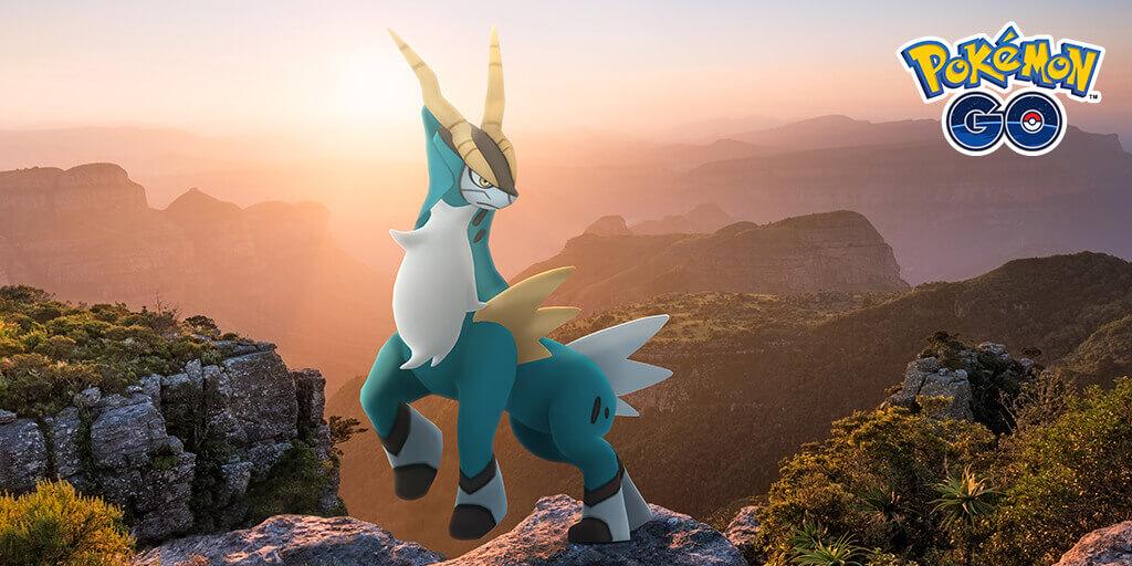 Cobalion llega a las incursiones de Pokémon GO en Noviembre