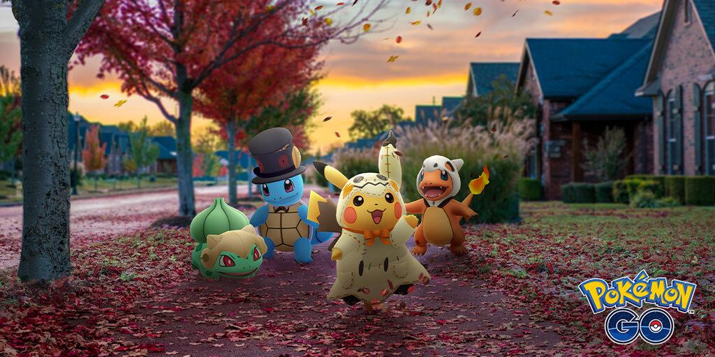 Pokémon GO anuncia su evento de Halloween 2019