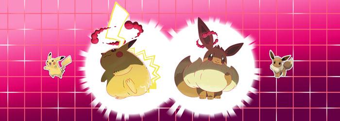 Gigamax Pikachu Eevee