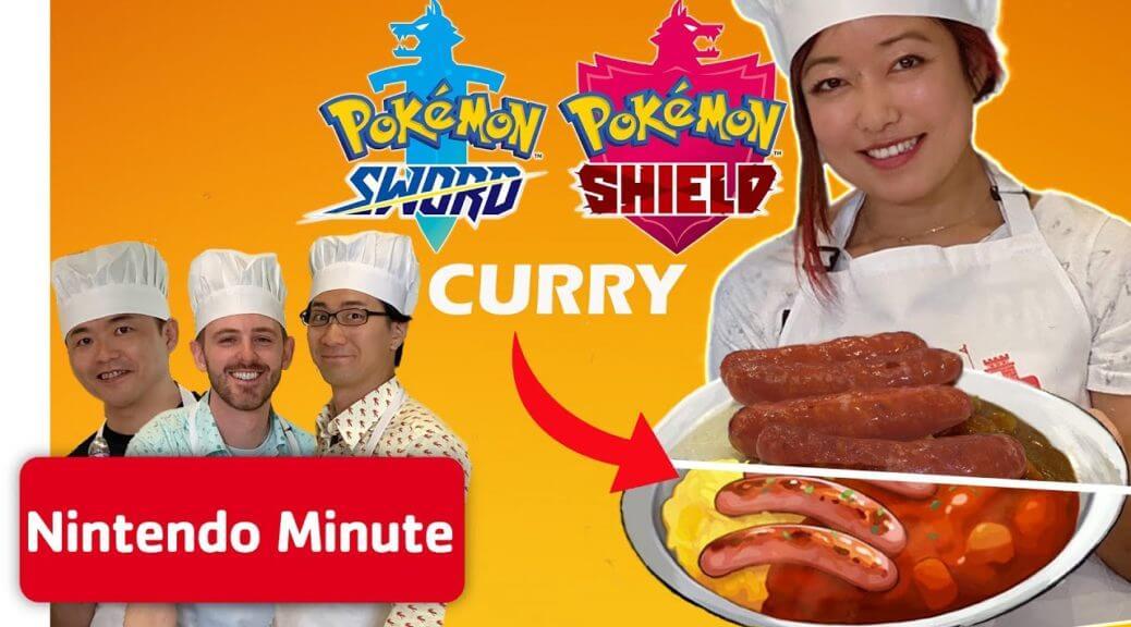 Vídeo de Masuda y Ohmori preparando Curry de Pokémon en Nintendo Minute
