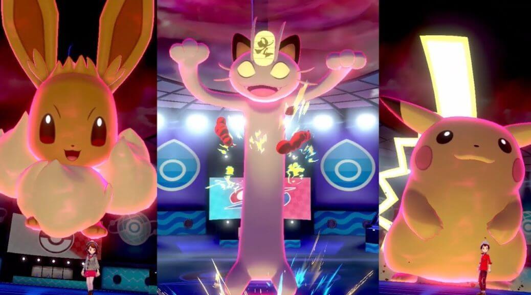 Nuevos Pokémon Gigamax son revelados para Pokémon Espada y Escudo
