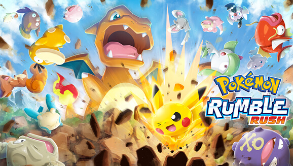 Pokémon Rumble Rush dejará de estar disponible este 22 de Julio de 2020