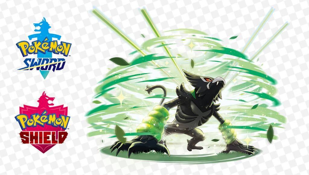 Cura Selvática, es el movimiento característico de Zarude en Espada y Escudo